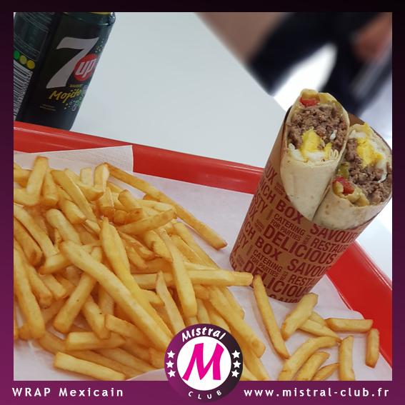 Le wrap mexicain